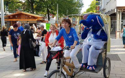 Weltkindertag 2020 auf dem Marktplatz Pforzheim